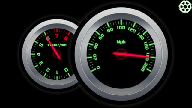 RPM and Speed Tachometer screenshot 1