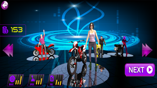 Stunt Bike Racing 3D 2018 screenshot 1