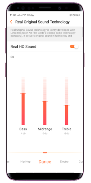 Mp3 Music Player 2019: Equalizer and Bass Booster screenshot 8