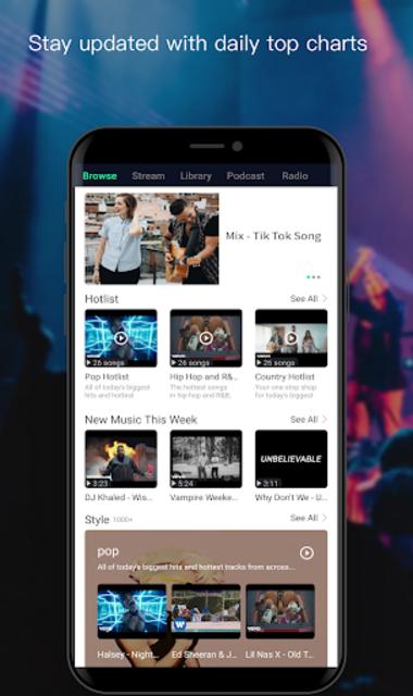 Free Music Player- Offline Music   Radio   Podcast screenshot 2