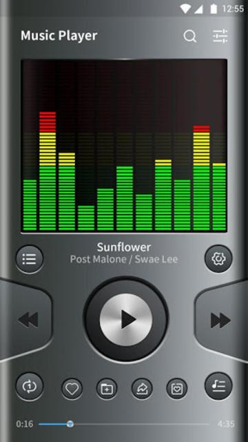 Music Player - Audio Player, EQ & Bass Booster screenshot 1