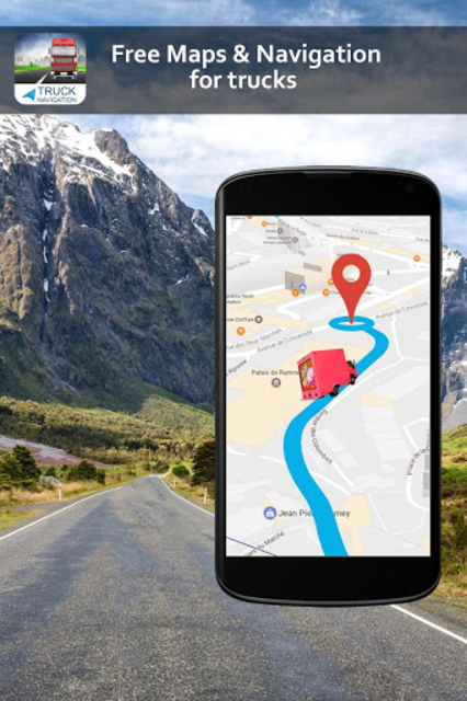 Free Truck Gps Navigation: Gps For Truckers screenshot 3