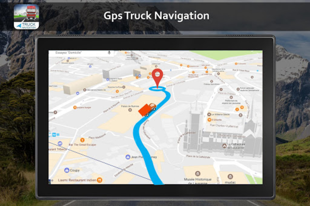 Free Truck Gps Navigation: Gps For Truckers screenshot 11