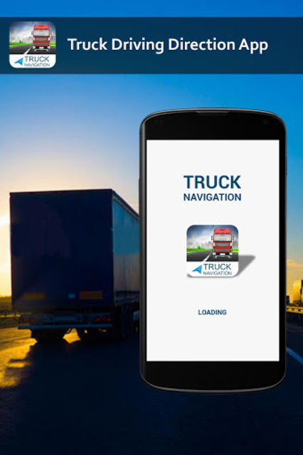 Free Truck Gps Navigation: Gps For Truckers screenshot 1