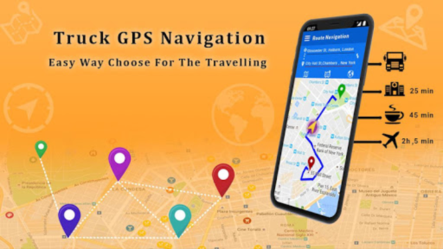 Free Truck Navigation - Truck Gps screenshot 1