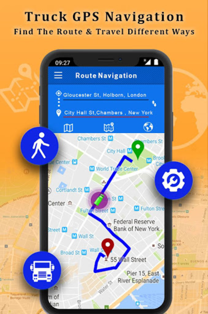 Free Truck Navigation - Truck Gps screenshot 2