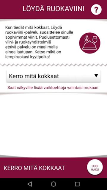 Viinistä viiniin screenshot 4