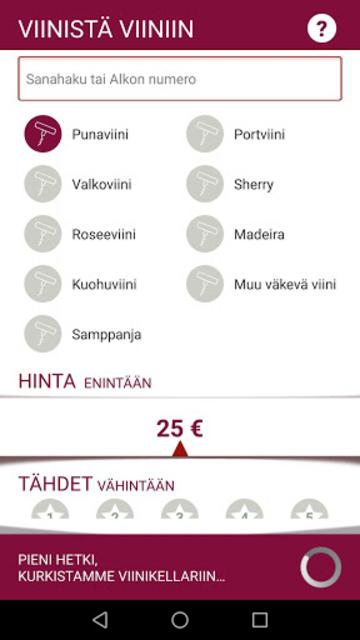Viinistä viiniin screenshot 5