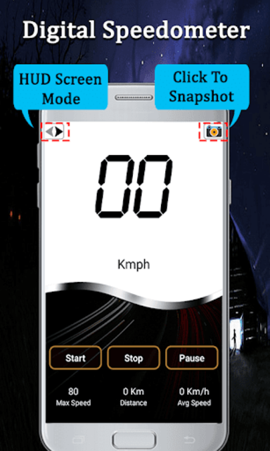 Speed Camera Detector - Live HUD Speedometer Alert screenshot 4