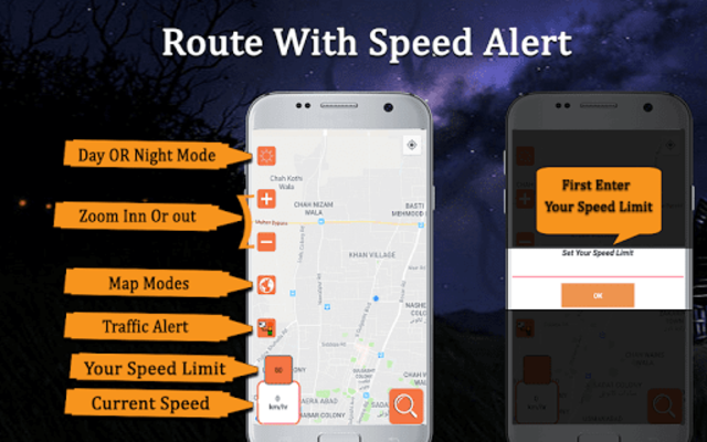 Speed Camera Detector - Live HUD Speedometer Alert screenshot 7