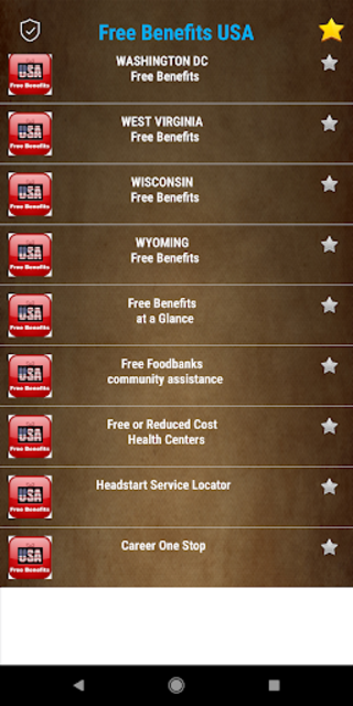 Free Benefits from US Government -  All States screenshot 1