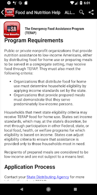 Free Benefits from US Government -  All States screenshot 4