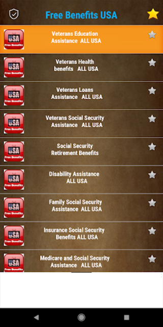 Free Benefits from US Government -  All States screenshot 13