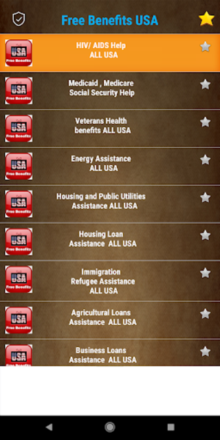 Free Benefits from US Government -  All States screenshot 15