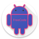 Icon for Freecode Android Tutorial with code. Learn Android