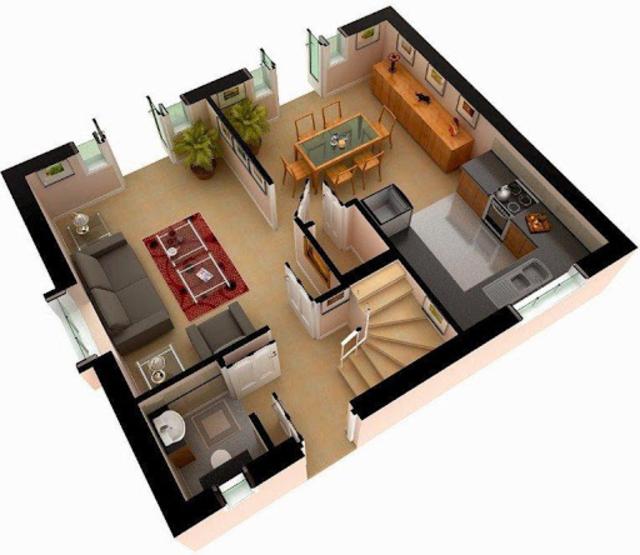 Free 3D Home Plans screenshot 1