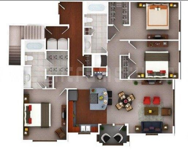 Free 3D Home Plans screenshot 2