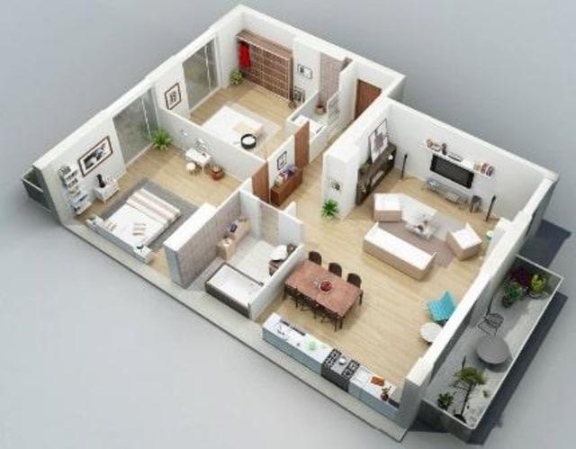 Free 3D Home Plans screenshot 4
