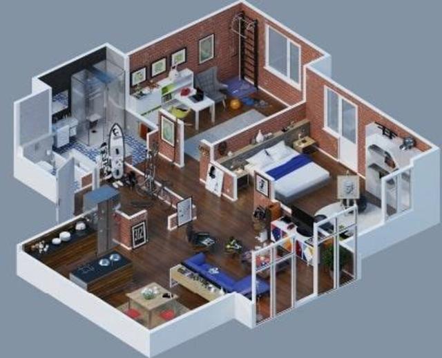 Free 3D Home Plans screenshot 8