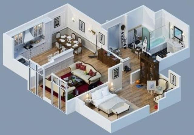 Free 3D Home Plans screenshot 11