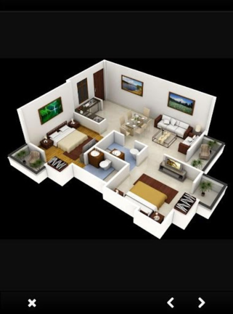 Free 3D Home Plans screenshot 15