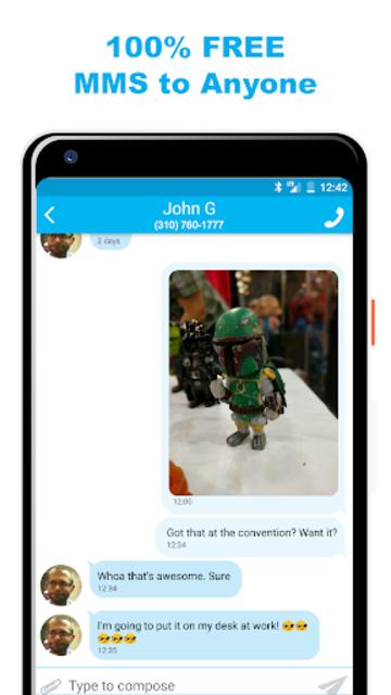 Text Free & Call Free screenshot 3