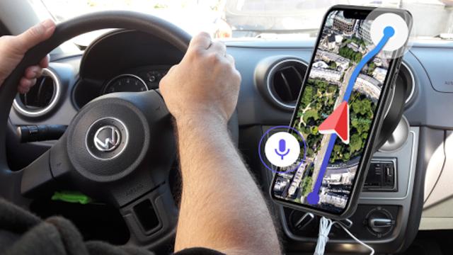 GPS Voice Navigation Live - Smart Maps with Voice screenshot 1