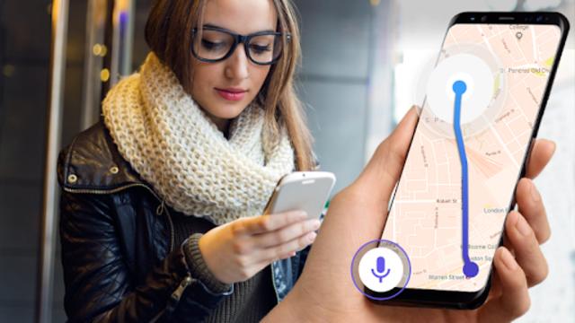 GPS Voice Navigation Live - Smart Maps with Voice screenshot 2