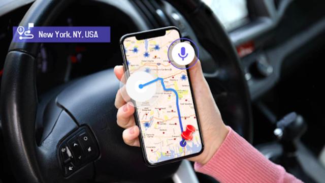 GPS Voice Navigation Live - Smart Maps with Voice screenshot 9