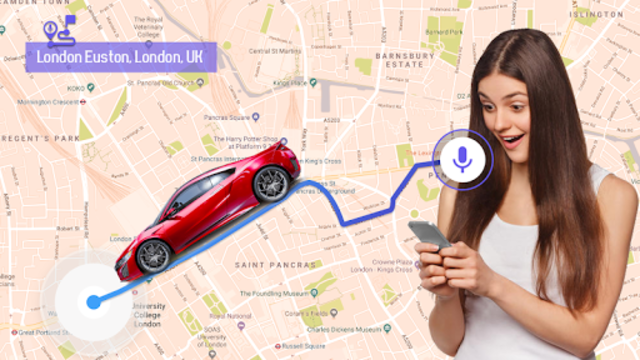 GPS Voice Navigation Live - Smart Maps with Voice screenshot 17