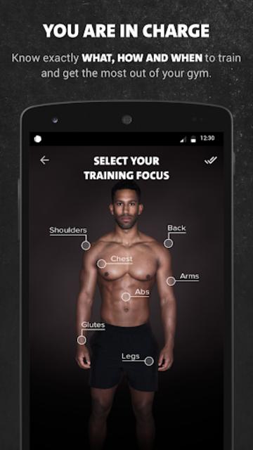 Freeletics Gym screenshot 3