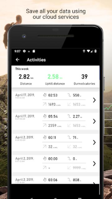 Altimeter - Mountain GPS Tracker screenshot 6