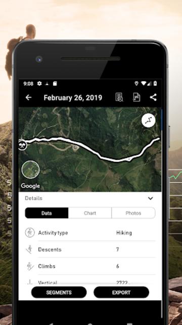 Altimeter - Mountain GPS Tracker screenshot 7