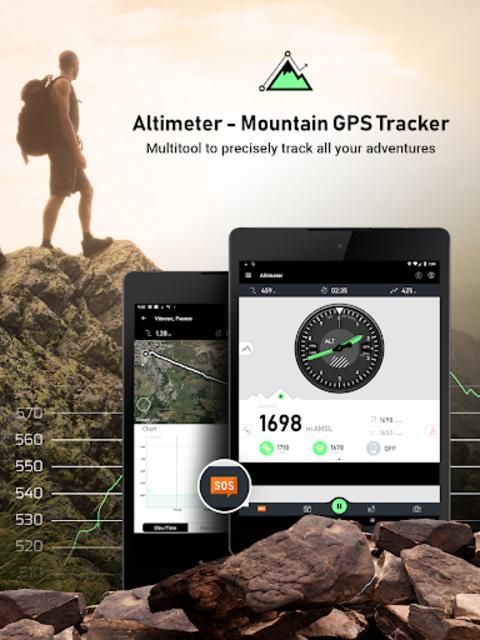 Altimeter - Mountain GPS Tracker screenshot 9