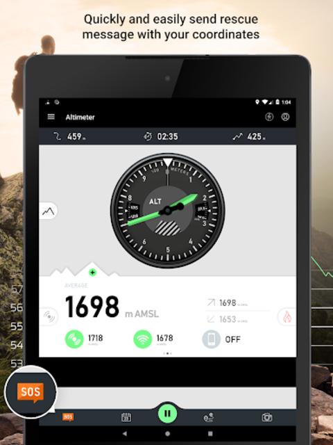 Altimeter - Mountain GPS Tracker screenshot 13
