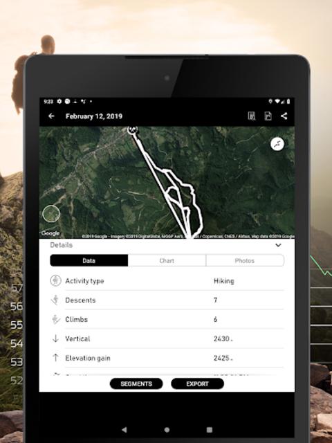 Altimeter - Mountain GPS Tracker screenshot 14