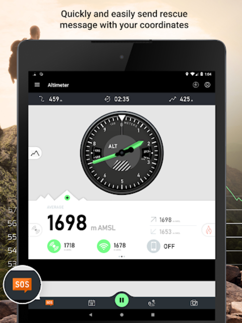 Altimeter - Mountain GPS Tracker screenshot 21