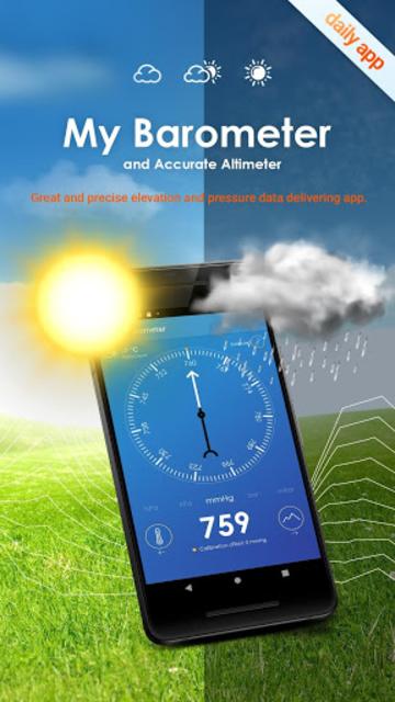 My Barometer and Altimeter - Accurate Pressure screenshot 1