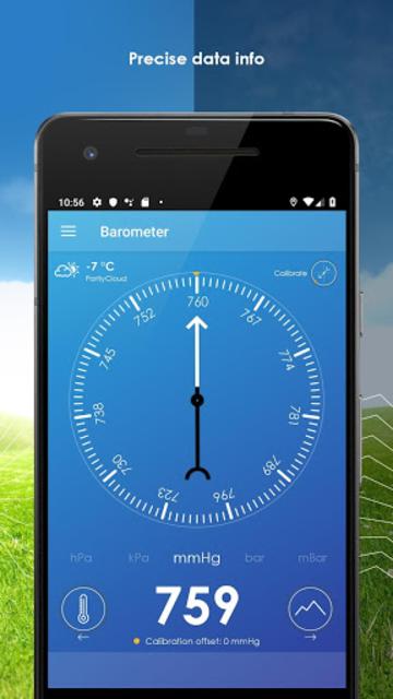 My Barometer and Altimeter - Accurate Pressure screenshot 3