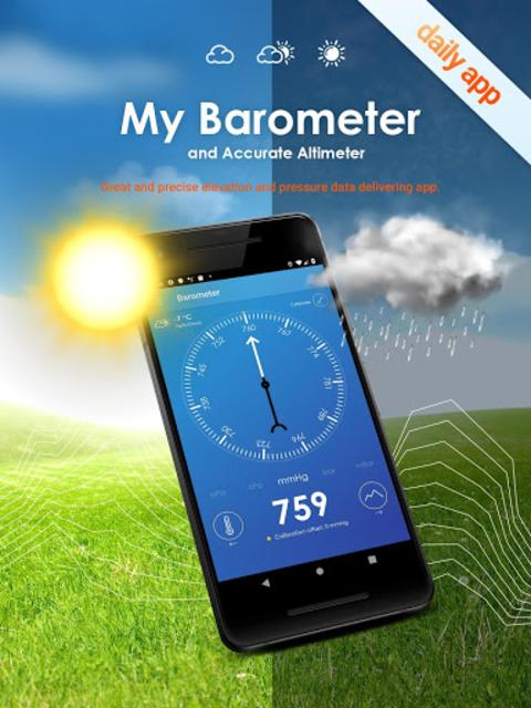My Barometer and Altimeter - Accurate Pressure screenshot 9