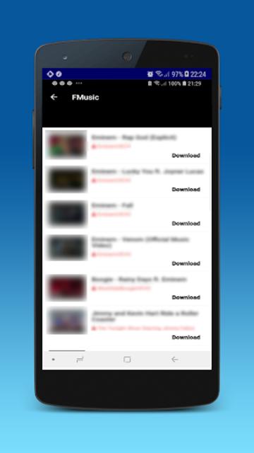 Music download : mp3 player & video downloader screenshot 3