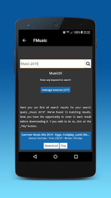 Music download : mp3 player & video downloader screenshot 5