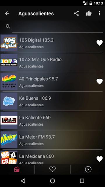 Mexican Radio Stations FM AM screenshot 3