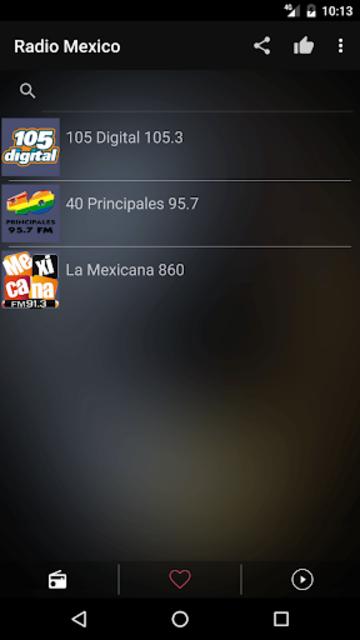 Mexican Radio Stations FM AM screenshot 6