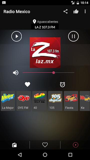 Mexican Radio Stations FM AM screenshot 8