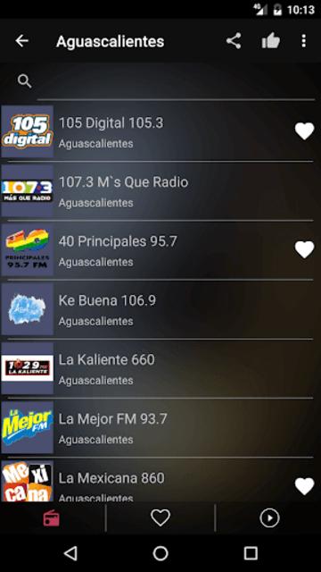 Mexican Radio Stations FM AM screenshot 9