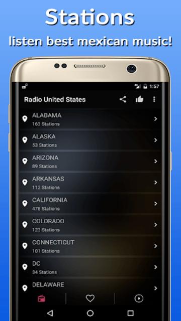 Radio Usa FM AM screenshot 2