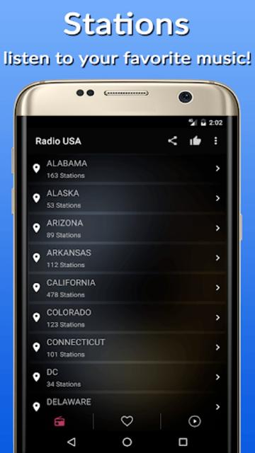 Radio Usa FM AM screenshot 6