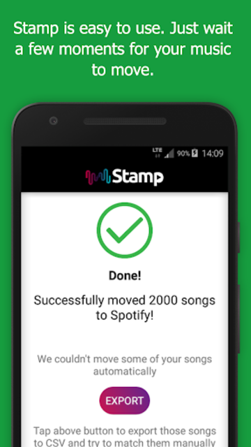 STAMP: Music Importer Transfer Your Playlists screenshot 5