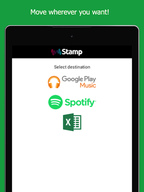 STAMP: Music Importer Transfer Your Playlists screenshot 7